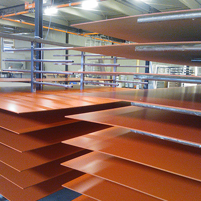 Rockpanel ply gelakt